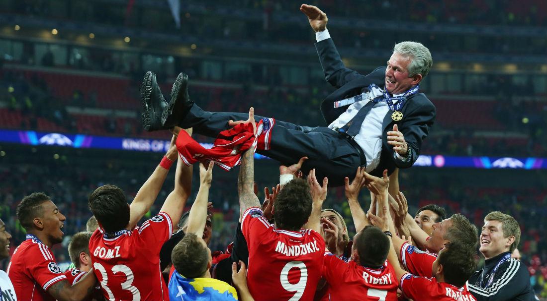 Image result for Jupp Heynckes at Bayern