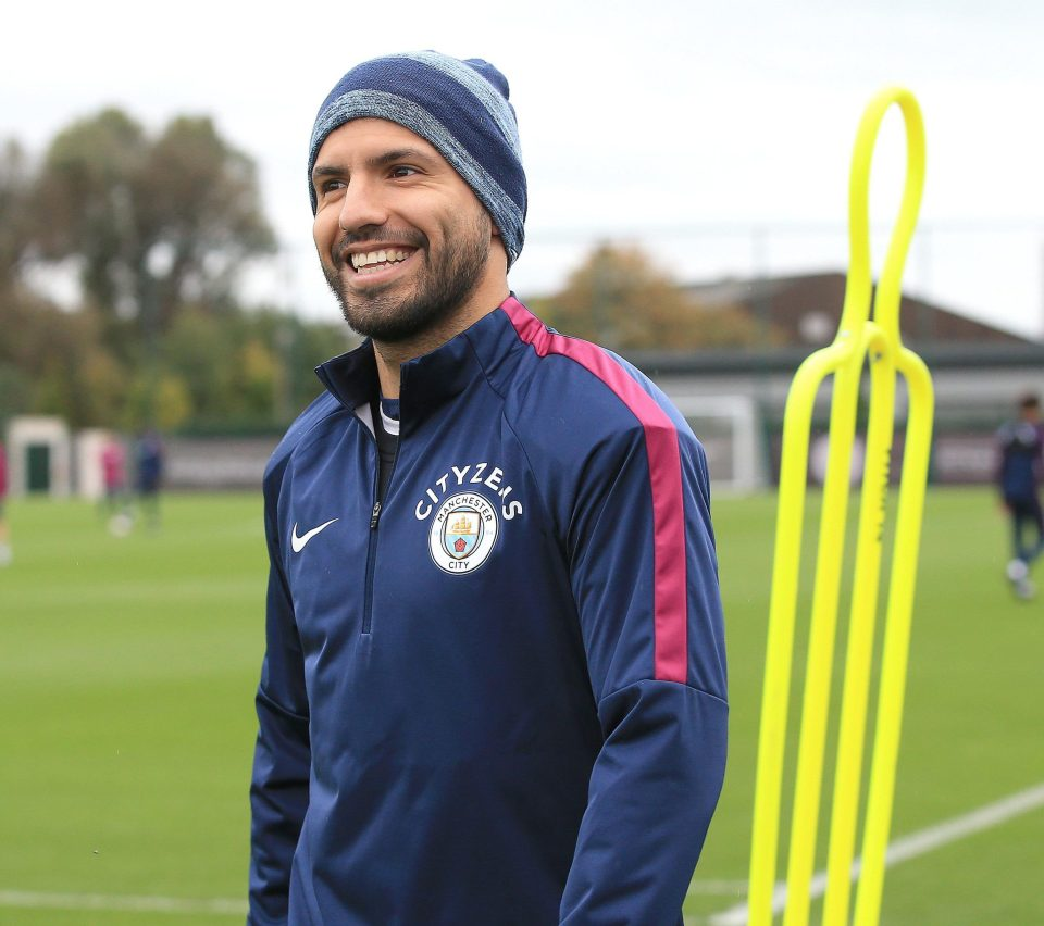Sergio Aguero 'Ready For Shock Manchester City Return' Against Stoke This Weekend