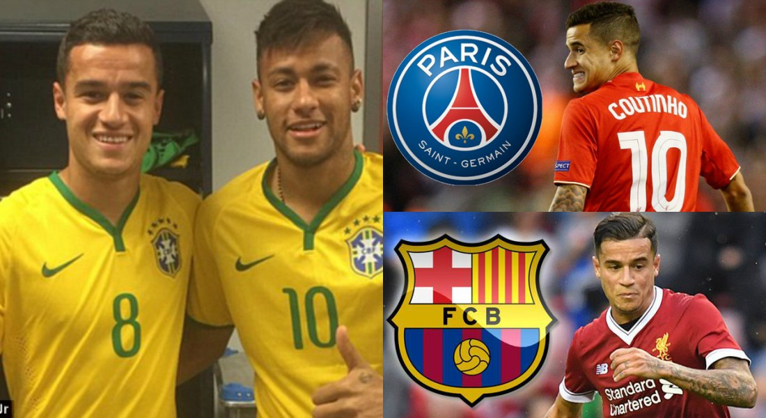 PSG Eyeing To Hijack Philippe Coutinho From Under The Noses Of Barcelona