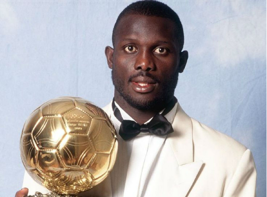 Ballon d'Or Winner George Weah Leads Race To Become
