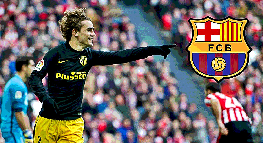 Barcelona 'Agree Deal In Principle' To Sign Man Utd Target Antoine Griezmann From Atletico Madrid Next Summer