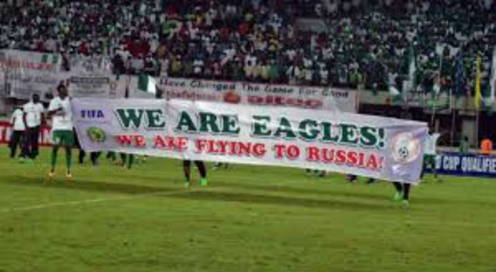Nigeria Celebrate World Cup Qualification, Coach Rohr Aims To Reach Knockout Stages At Russia 2018
