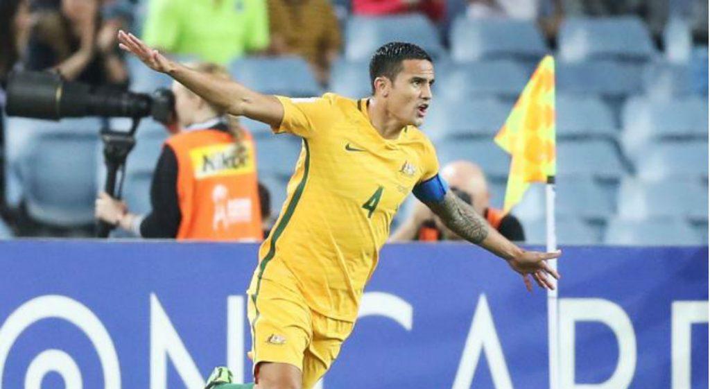 T For TROUBLE: FIFA Investigates Socceroos Star Tim Cahills Sponsored Celebration