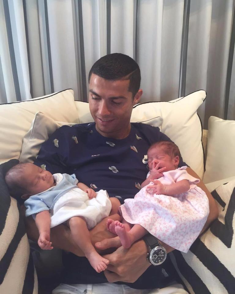 Cristiano Ronaldo's Girlfriend Georgina Rodriguez Gives Birth To Baby Girl Alana Martina