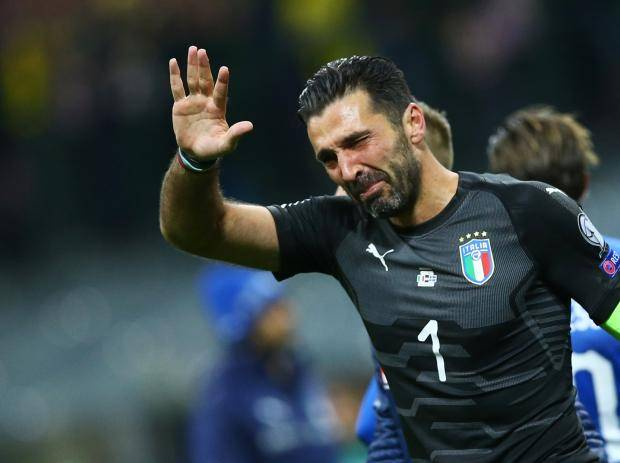 Buffon, Barzagli And De Rossi End International Careers As Italy Fail To Reach The World Cup For The First Time In 60 Years
