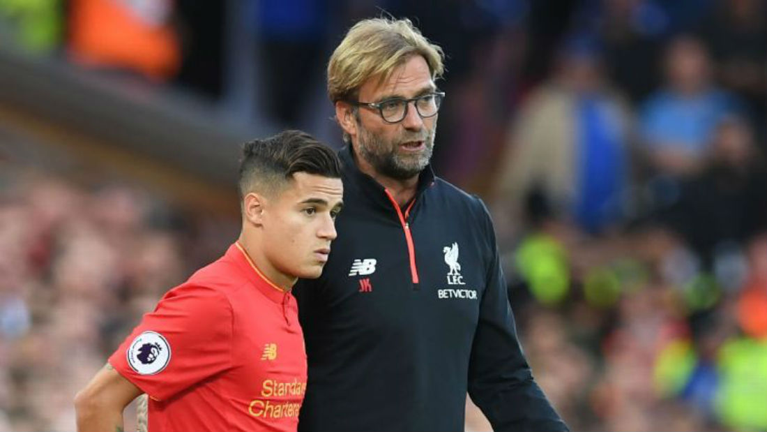 Philippe Coutinho To Barcelona? Jurgen Klopp Rules Out January Transfer Of Liverpool Star