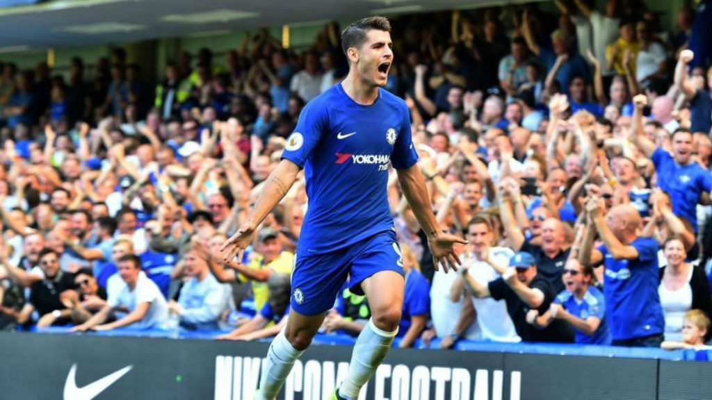 Morata And Mourinho Exchange Text Messages Ahead Of