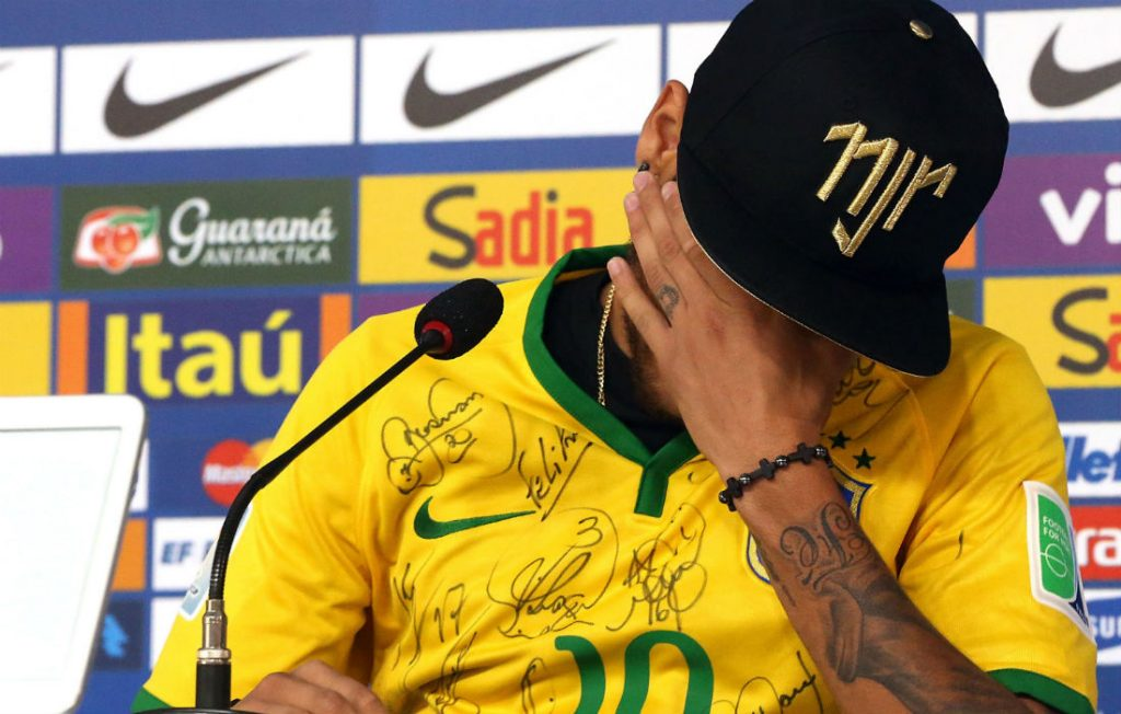 Neymar Ends Up In Tears During Brazil Press Conference, Dismisses PSG Exit Rumours