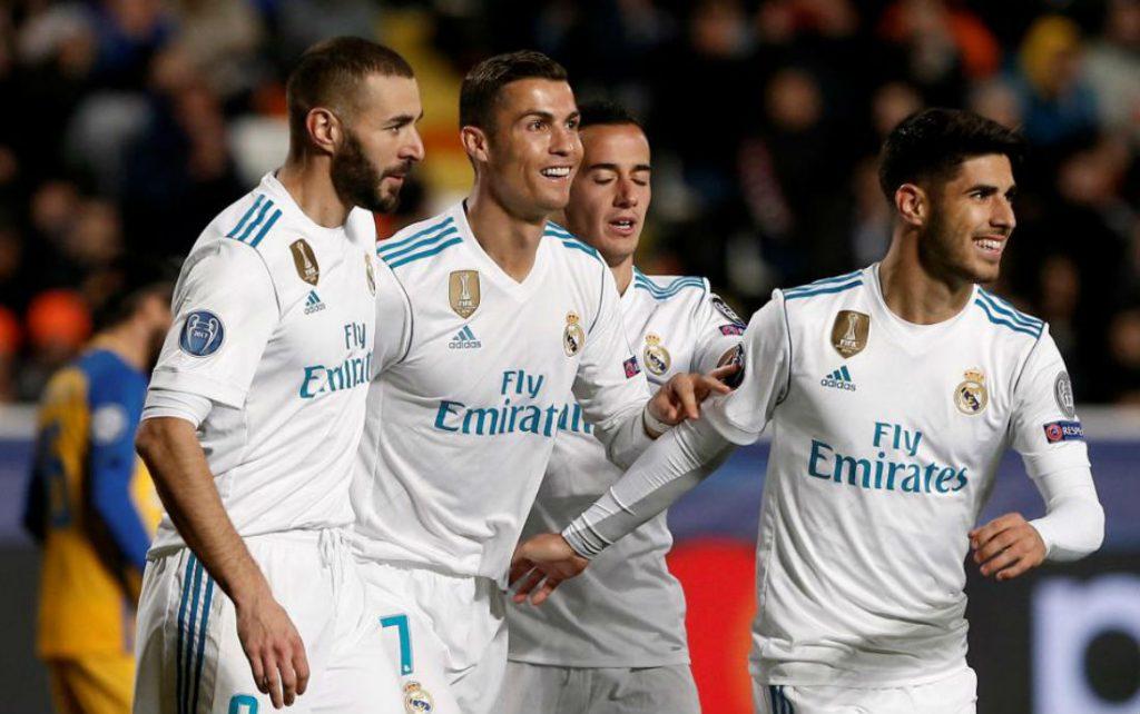Champions League: Real Madrid Thrash Apoel Nicosia 6 0 In Group H Encounter