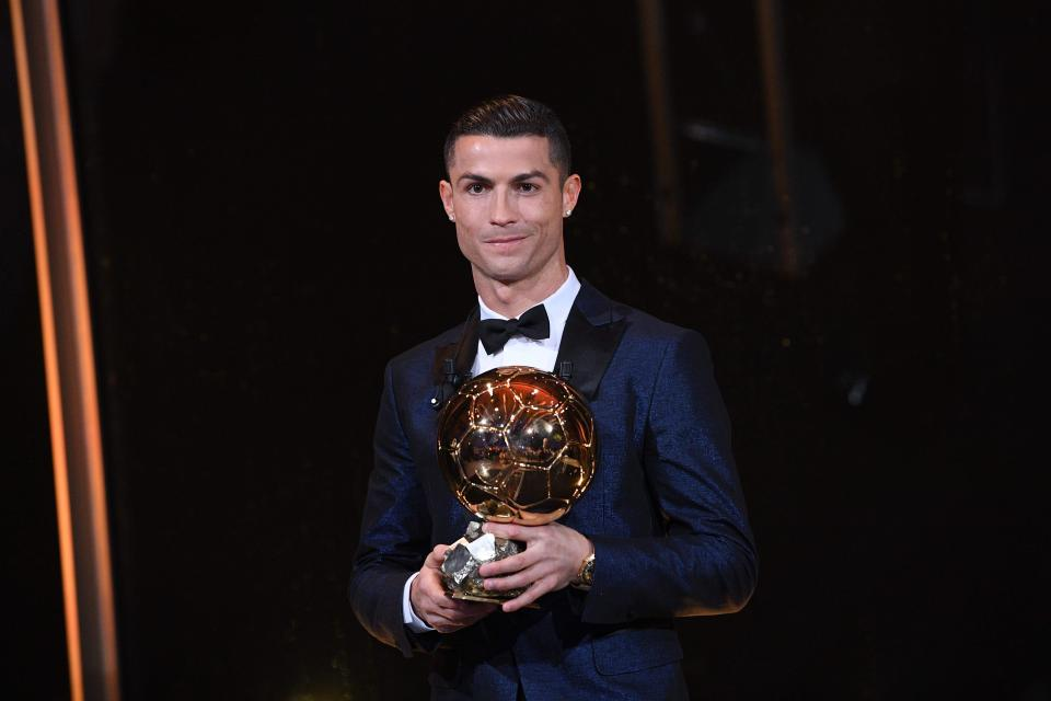 Cristiano Ronaldo Wins Fifth Ballon d'Or To Equal Lionel Messi's Record