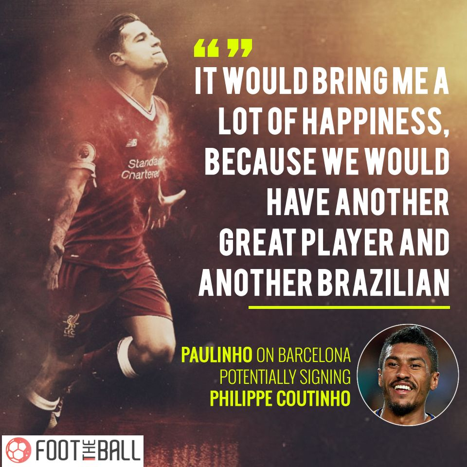 Real Madrid Rejected Chance To Sign Philippe Coutinho For Just £2.2M Back In 2008