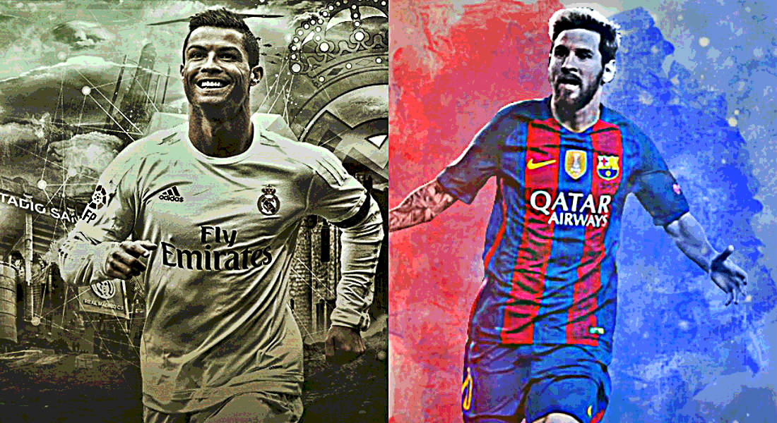 FootTheBall Takes A Look At The Ever Growing List Of World Records And European That Messi Ronaldo Have Broken So Far