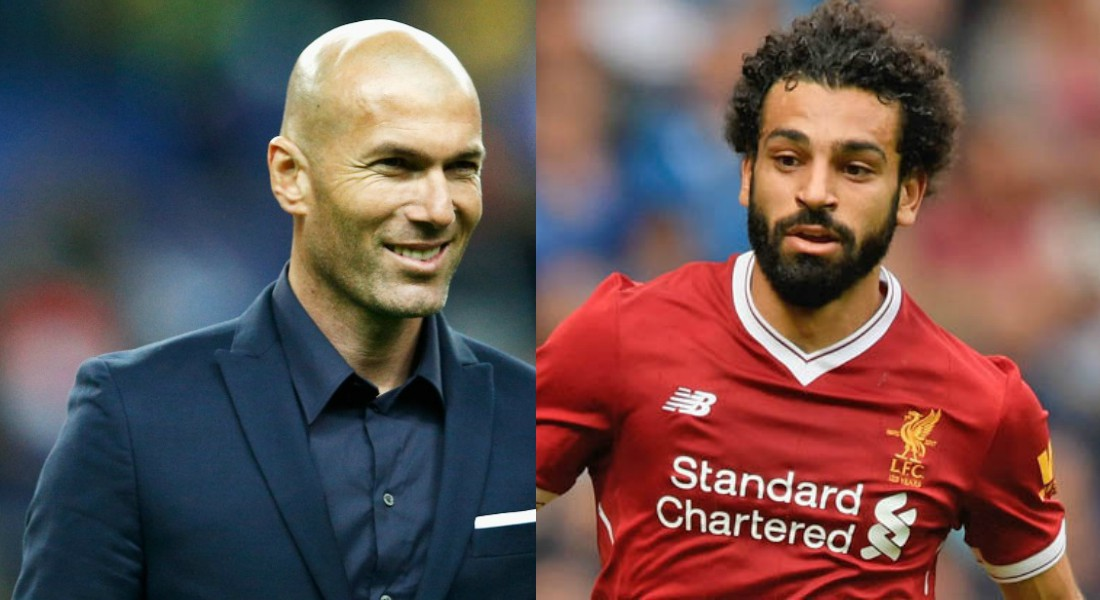Image result for zidane and salah