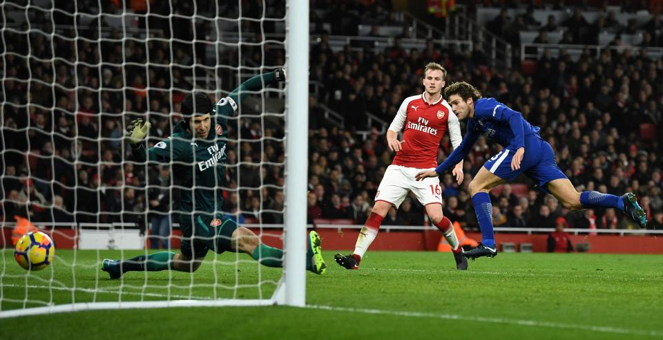 Arsene Wenger Blasts Penalty Awarded To Chelsea As Farcial And Would Have Committed Suicide If The Blues Won