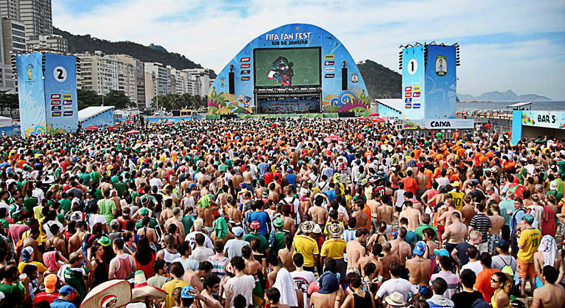Image result for fan parks world cup 2018