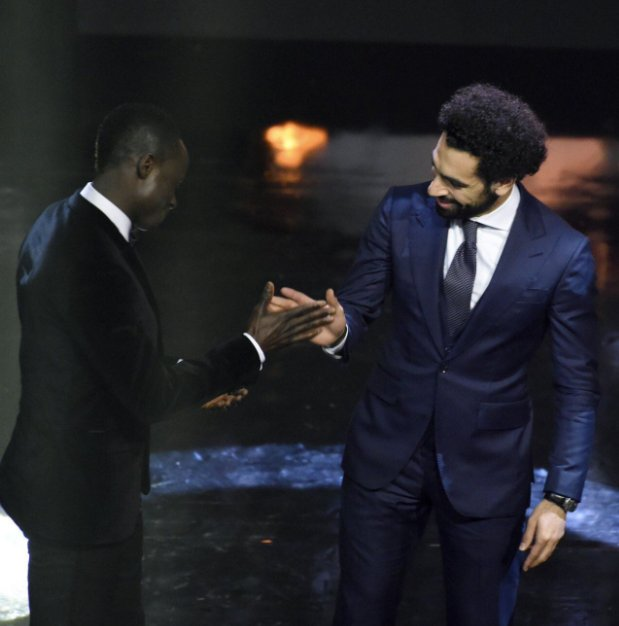 Liverpool Star Mohamed Salah Pips Team Mate Sadio Mane To African Player Of The Year Award