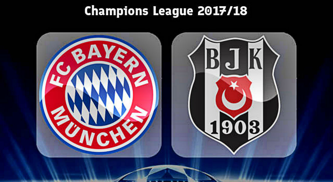 Champions League Bayern Munich Vs Besiktas Can The Turkish Side Stun The Germans