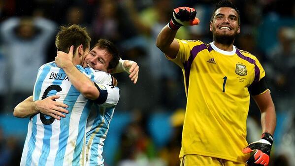 Argentina goalkeepers