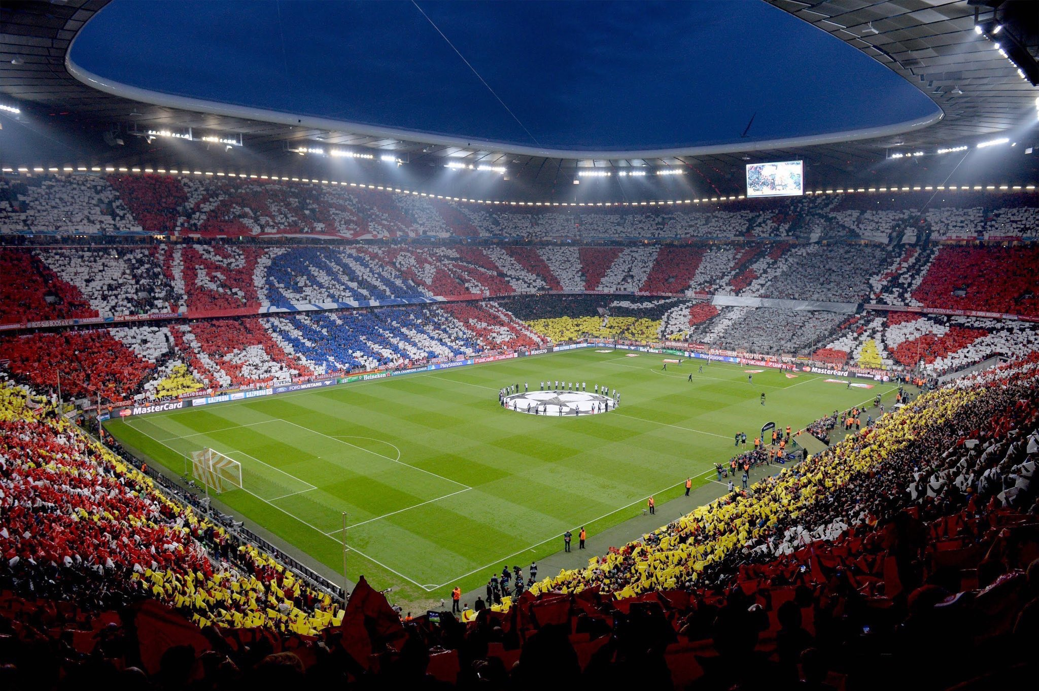 The most beautiful Football Stadiums in the world