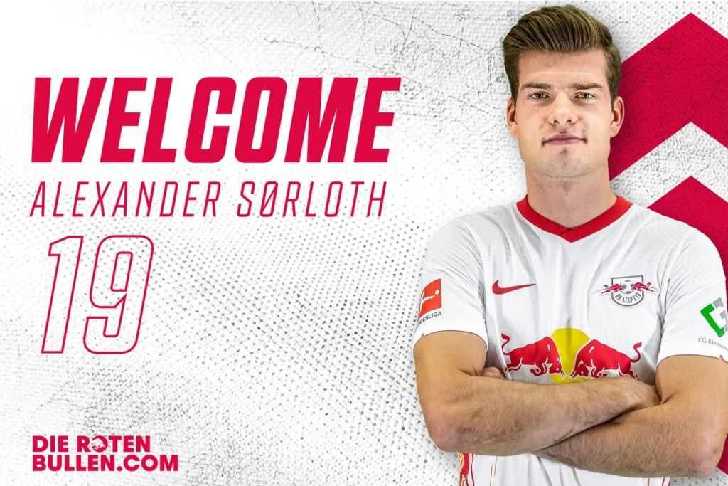 RB Leipzig Announce the Signing of Alexander Sørloth for a reported €20m with €2m in add-ons