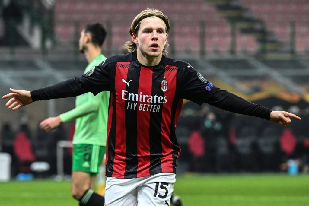 Jens Petter Hauge joined AC Milan on a permanent deal from Bodø/Glimt, his hometown team