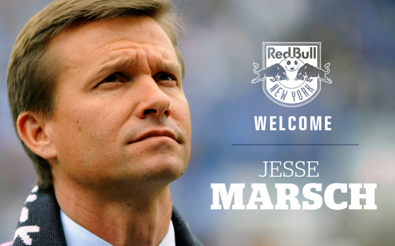 Jesse Marsch in Ney York Red Bulls