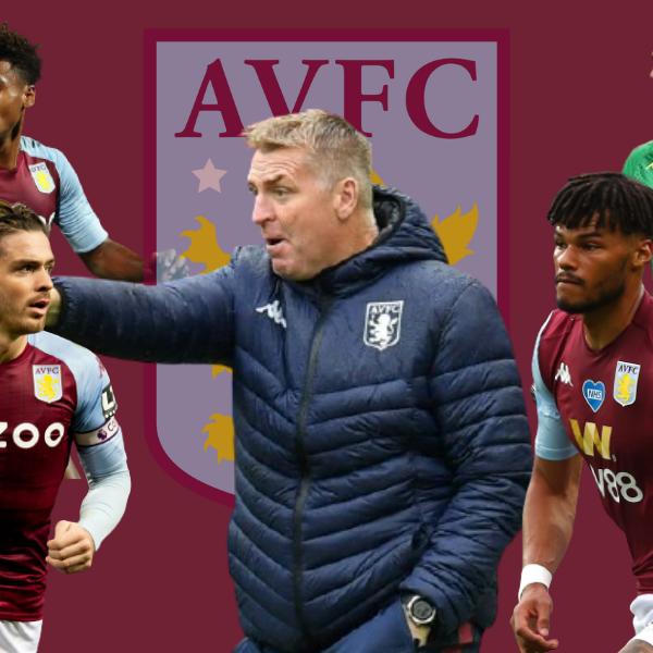 Dean Smith and Aston Villa