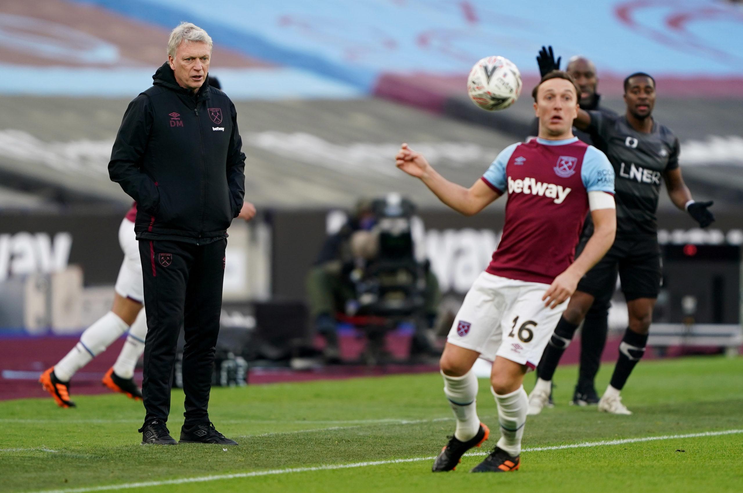 West Ham Under Moyes