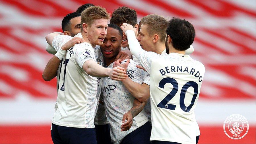 Manchester City team 2021