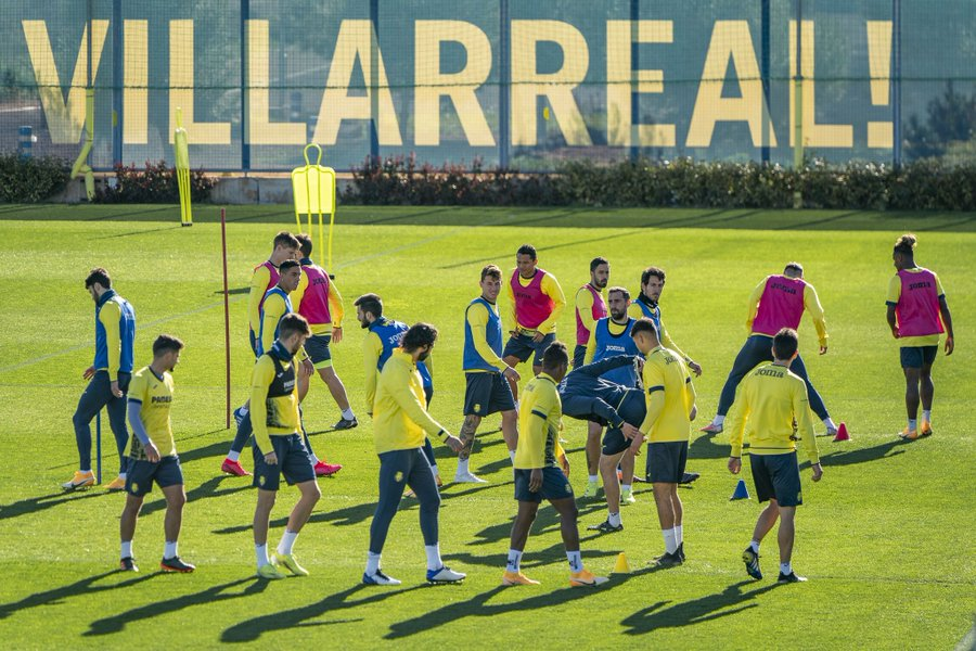 Villarreal Squad training