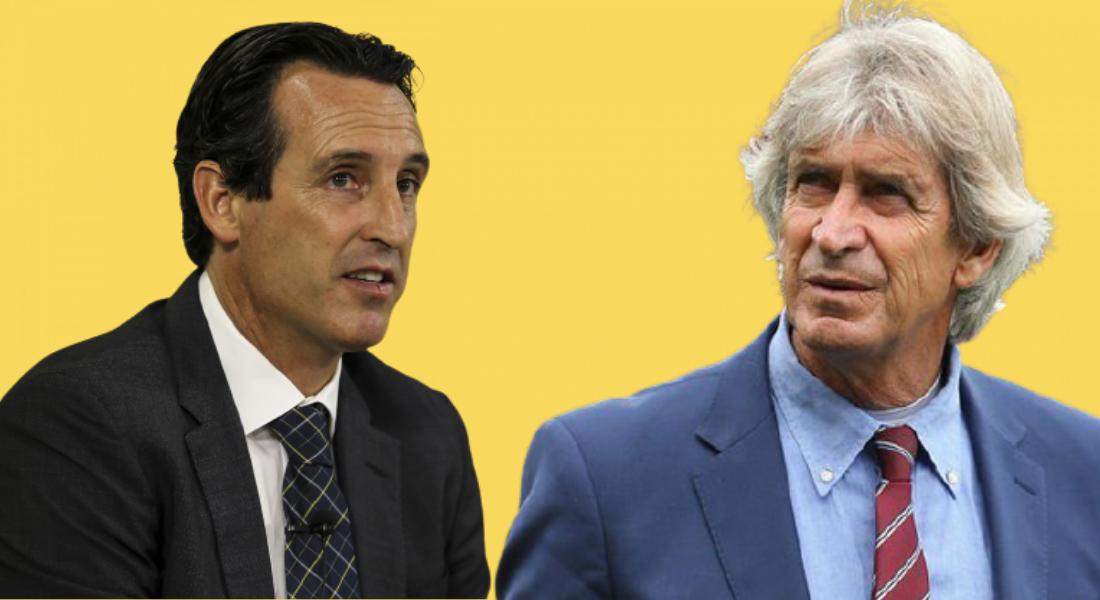 Unai Emery and Manuel Pellegrini