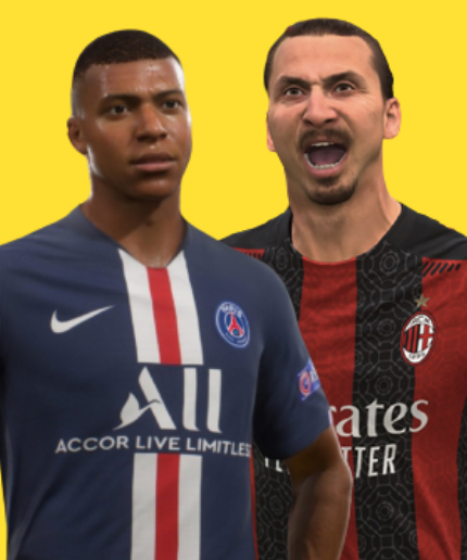 Fifa Mbappe and Ibrahimovic