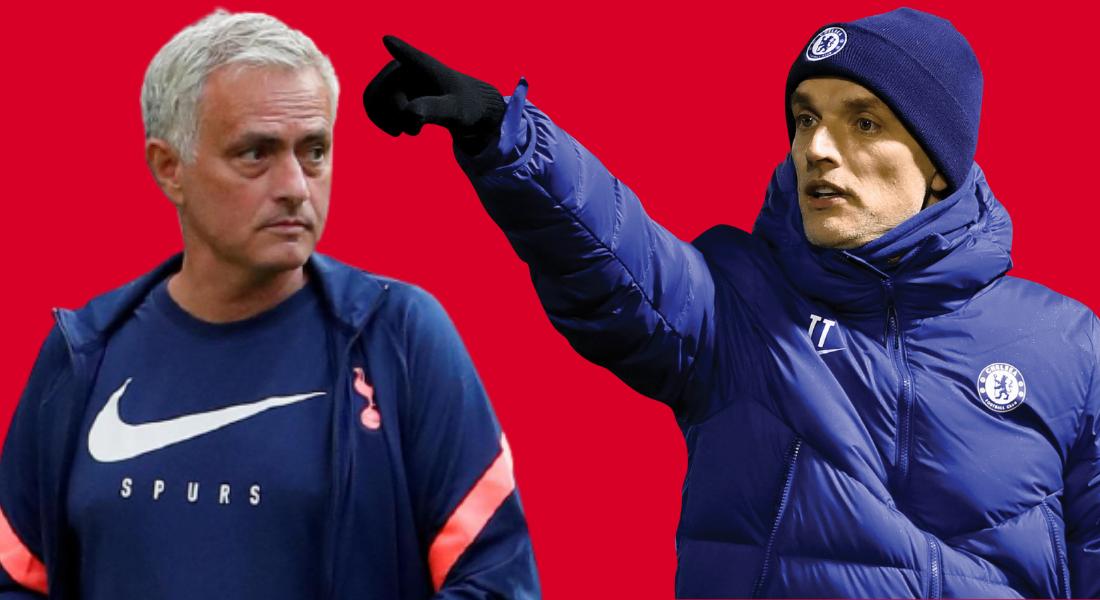 Mourinho and Tuchel