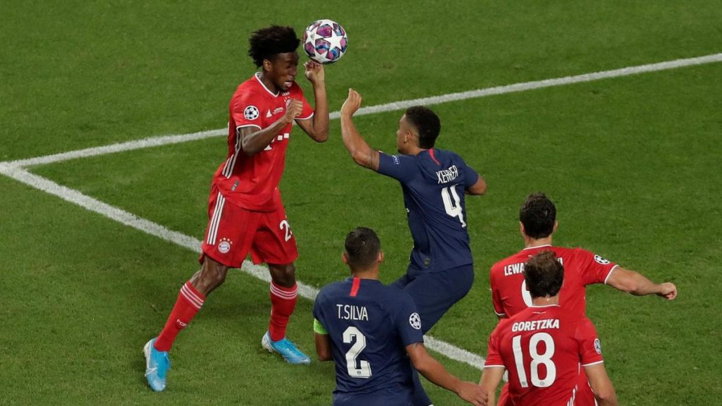 24-YEAR-OLD Kingsley ComanSCORED THE WINNER FOR BAYERN MUNICH IN THE UCL FINAL