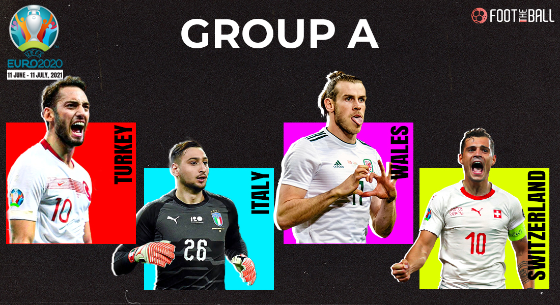 Euro 2020 Group a fixtures