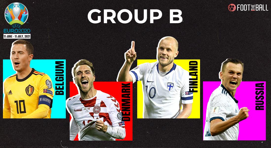 Group B Euro fixtures
