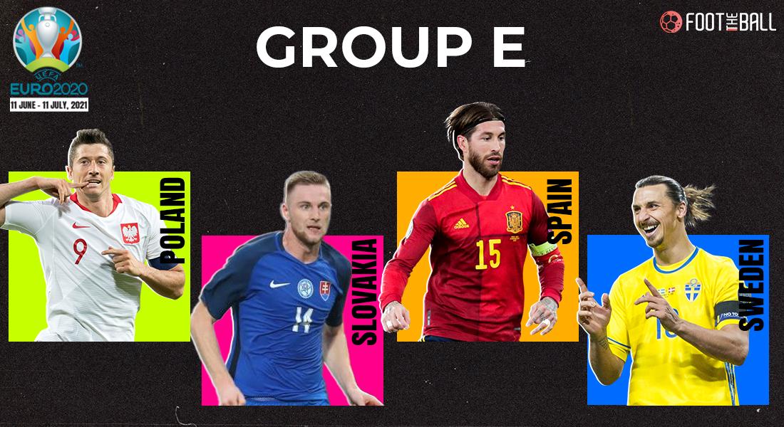Group E Euro fixtures