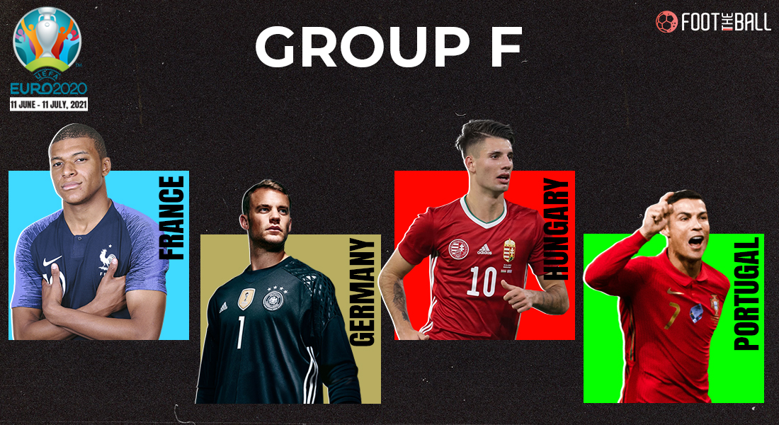 Group F Euro fixtures