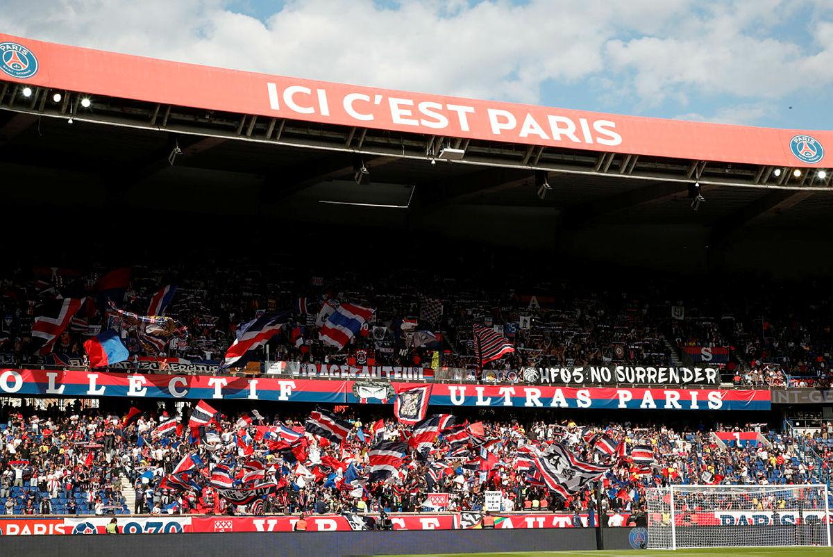 psg stadium stand
