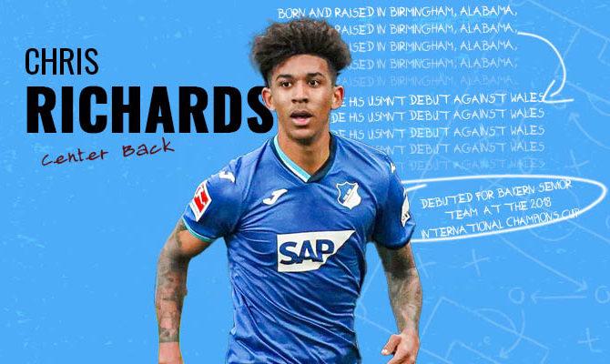 Chris Richards Bayern Munich Player Profile