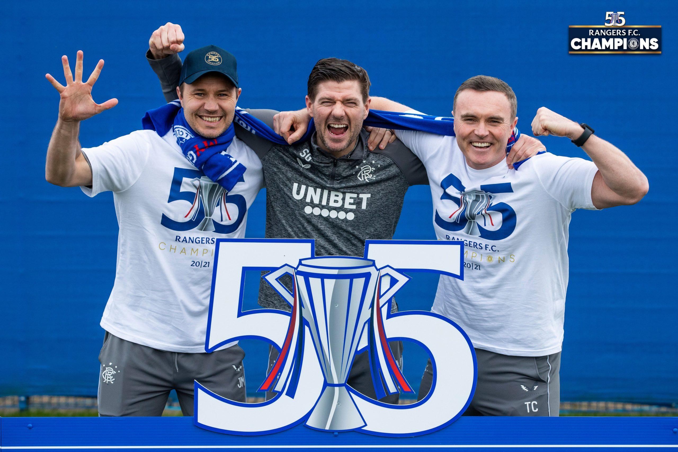 Rangers win Record 55th Scottish Title