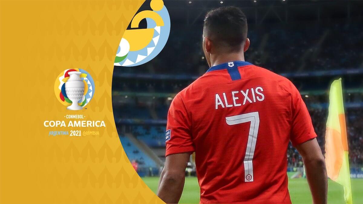 Alexis Sanchez Copa America champions