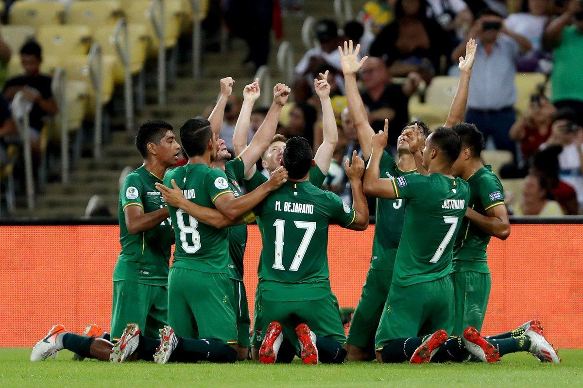 Bolivia Copa America champions