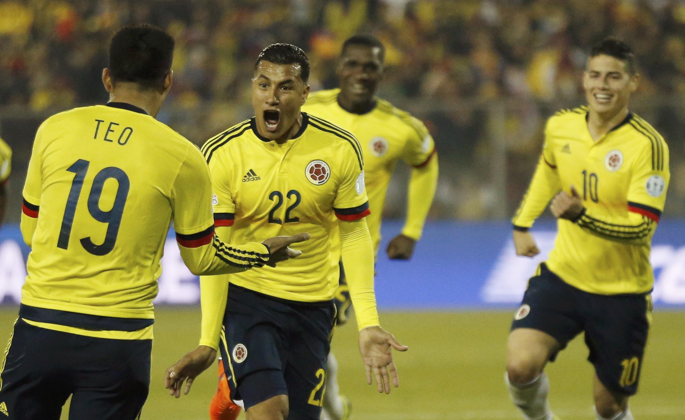 Colombia Copa America champions