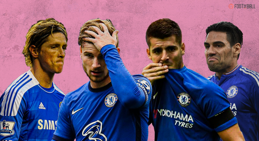 Chelsea Striker Curse - What has gone wrong for Timo Werner