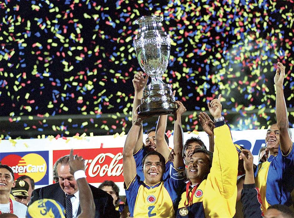 Colombia 2001 win