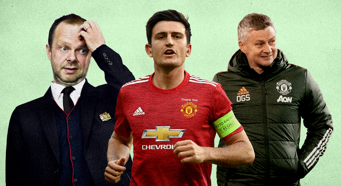 Harry Maguire and Man United players confront Ed Woodward