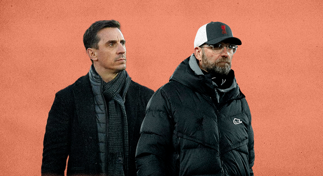Klopp clasheds with Neville over Liverpool and Super League comments