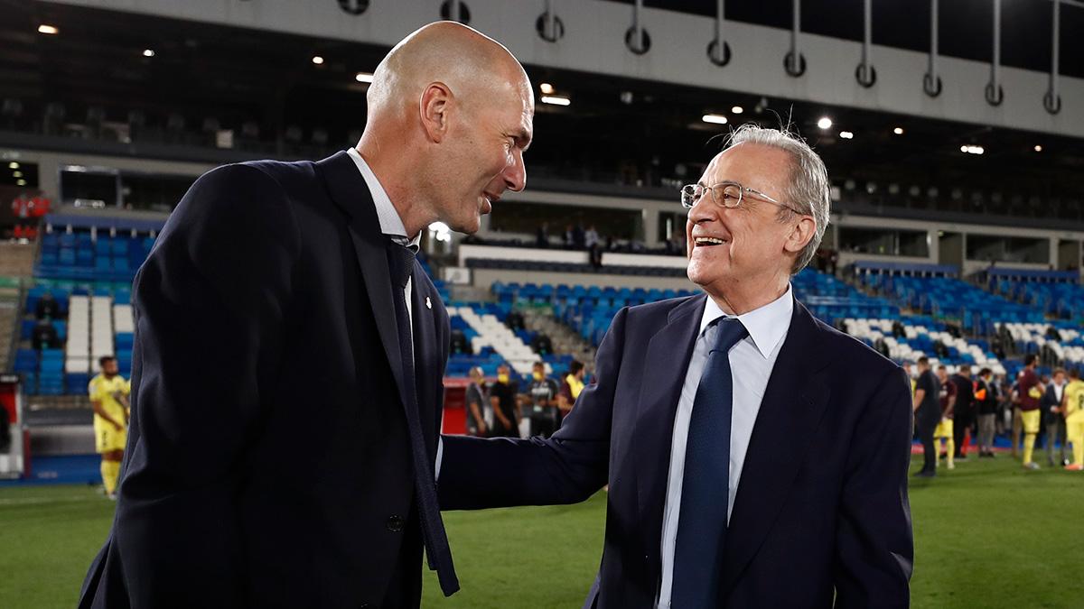 European Super League's first Chairman Florentino Perez