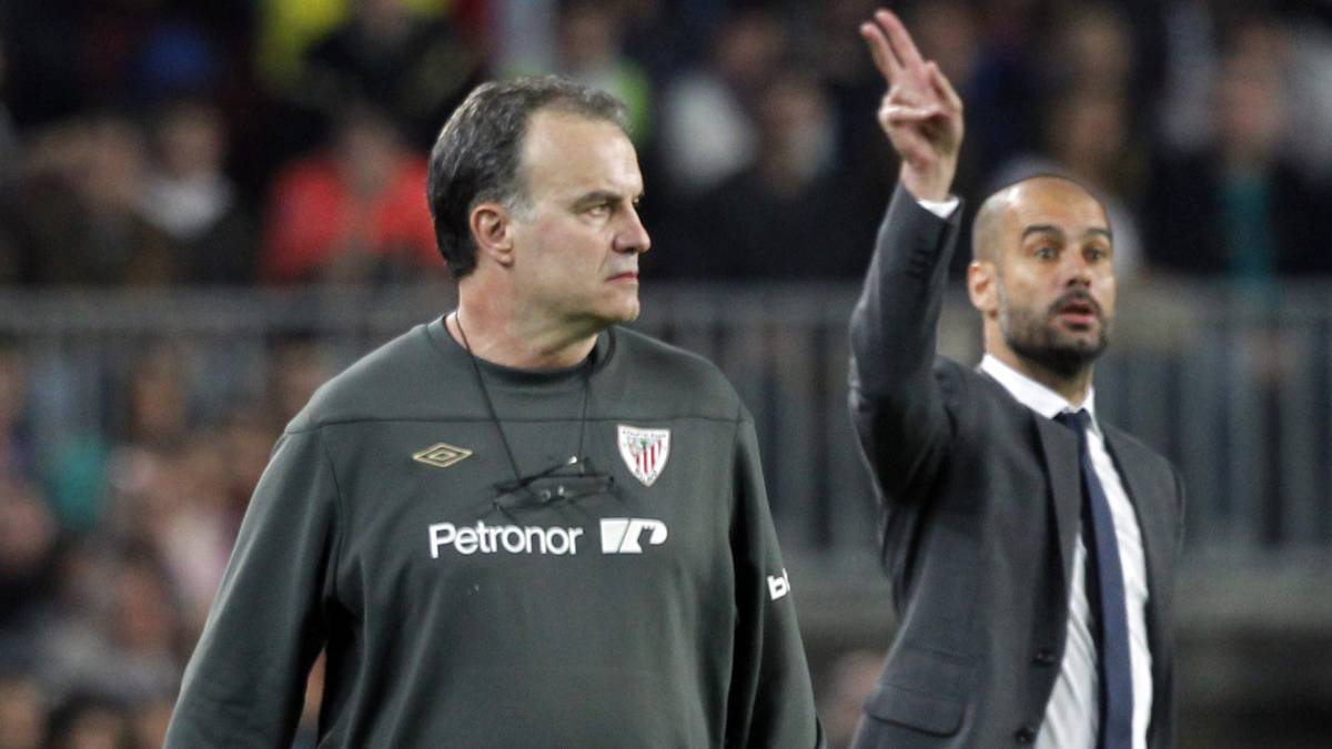 Meetings between Pep Guardiola and Bielsa have served up some entertaining high intensity football
